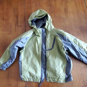 Columbia raincoat 6/7